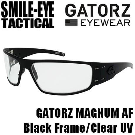 GATORZ MAGNUM AF Tactical Black Frame / Clear UV
