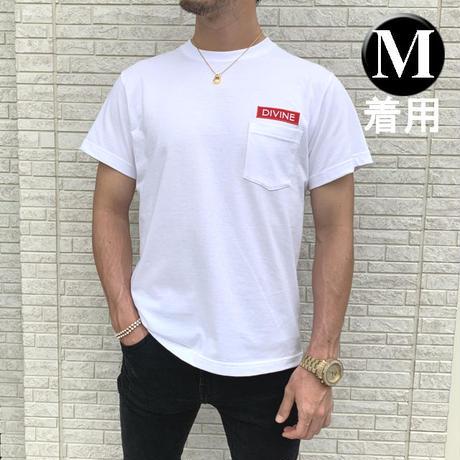 Tシャツ   DIVINE 刺繍☆White☆ 2020