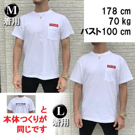 Tシャツ  DIVINE  ☆White☆ 2020