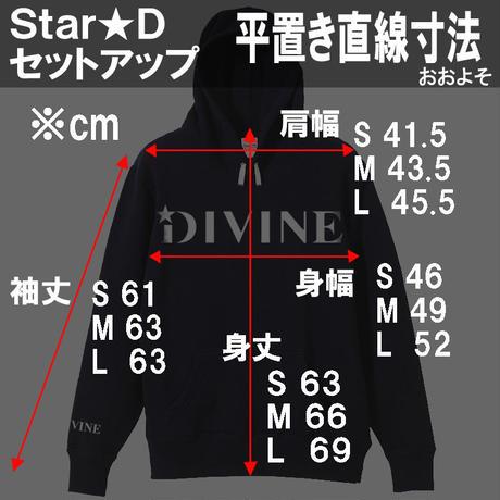 セットアップ  Star★D【タイト】BLACK