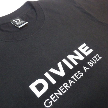 Tシャツ  DIVINE  ★BLACK★ 2020