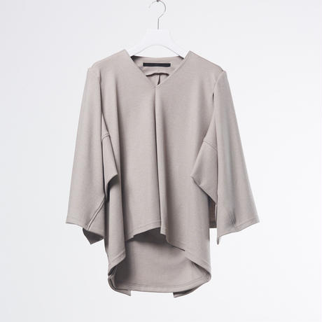 DK18-CS01-T03/Dual Layered Jersey Top/2 COLORS