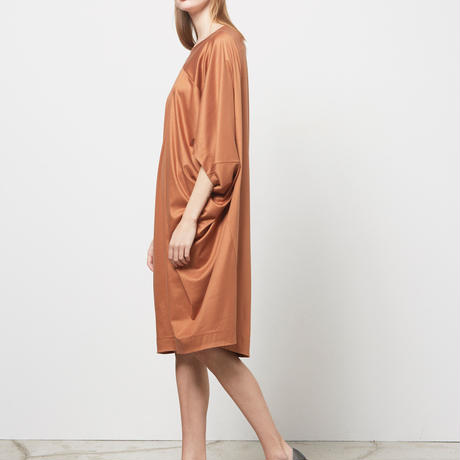 DK16-CS02-O04/Smooth Jersey Oversized Dress