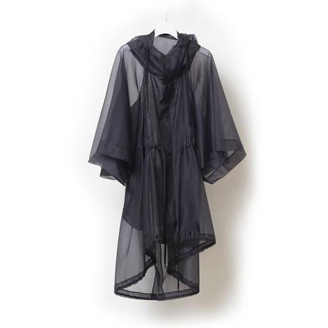 DK19-03-C01/Silk/Pe Chambray Organdy Mod's Coat/2 COLORS