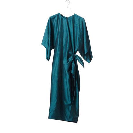 DK15-05-D01/BONOTTO Ac/Linen Dress