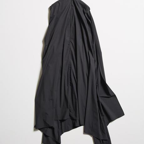 DK19-04-D09/80/1 Stretch Typewriter Cloth Square Dress / 1COLOR