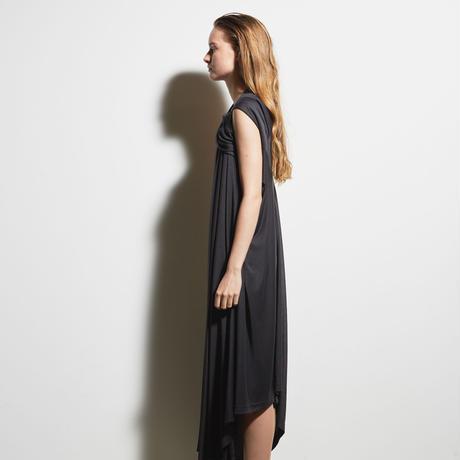 DK19-CS04-D05/Rayon Silky Soft Jersey Dress/2COLORS