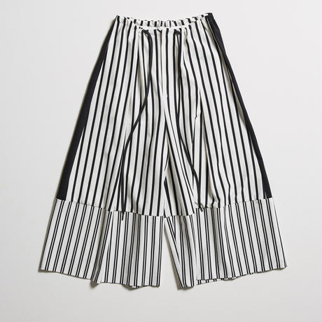 DK19-CS03-P02/Cotton Stripe Jersey Pants/1COLOR