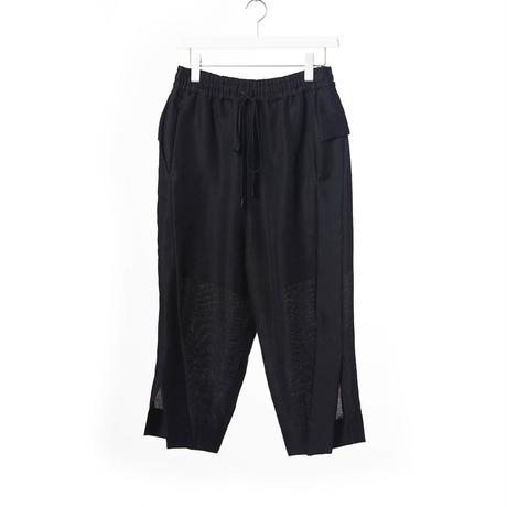 DK15-09-P01/Natural Ramie Dobby Pants