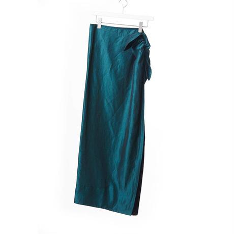 DK15-05-S04/BONOTTO Ac/Linen Skirt