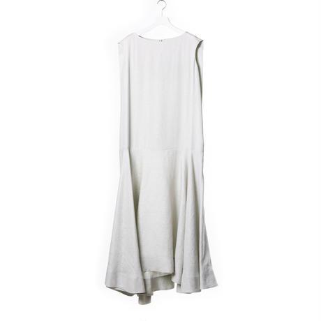 DK15-08-O01/Linen/Rayon Glitter Dress