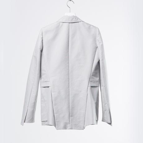 DK18-05-J01/Silk Cotton Grosgrain  Jacket/2 COLORS