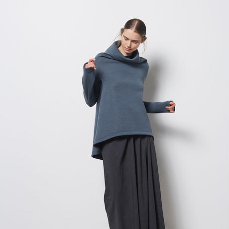 DK18-03-S03/Bonotto Bielastic Poplin Skirt/2 COLORS