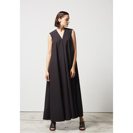 DK17-04-O01/120/2C Washed Typewriter Cloth Dress