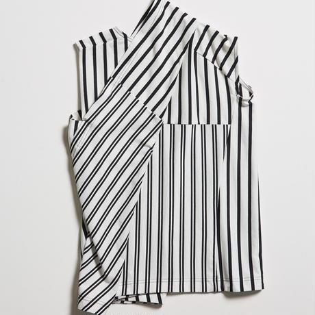 DK19-CS03-T08/Cotton Stripe Jersey Top/1COLOR