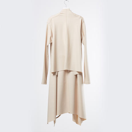 DK18-CS02-H02/Super140's Wool Light Melton Cardigan/3 COLOR