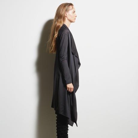 DK19-CS04-H01/Rayon Silky Soft Jersey Long Cardigan/2COLORS