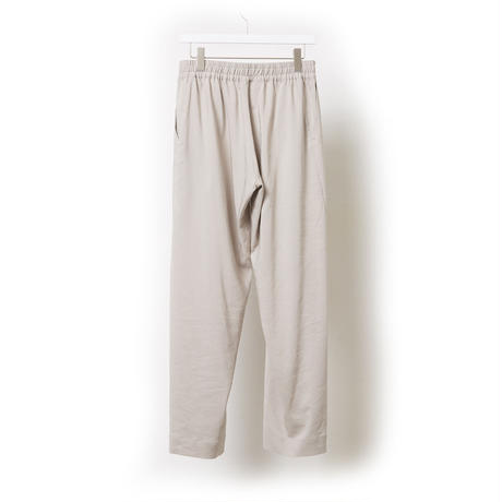 DK17-06-P04/Ta/Ry/Linen Stretch Cloth Trousers
