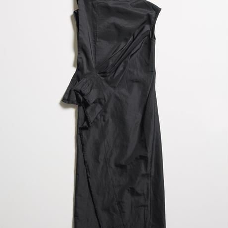 DK19-11-D04/Ra/Ny Washed Twill Dress/2COLORS