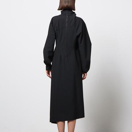 DK20-03-D02/Bonotto Bielastic Poplin Dress/2COLORS