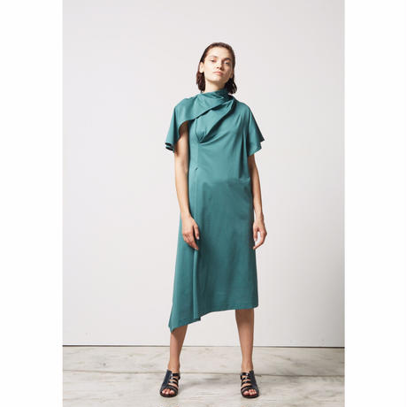 DK17-CS02-D07/New Cloth Jersey Dress