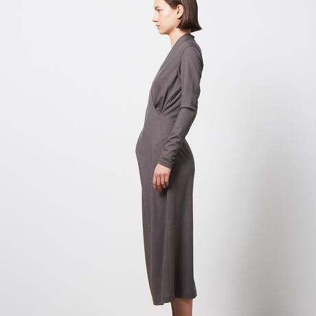 DV-027/2/48 Wool Jersey Washable Dress/2COLORS