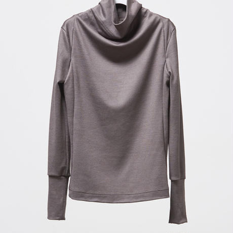 DV-029/2/48 Wool Jersey Washable High Neck Top/2COLORS