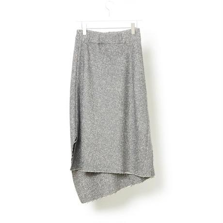 DK16-08-S03/Wool Tweed Skirt