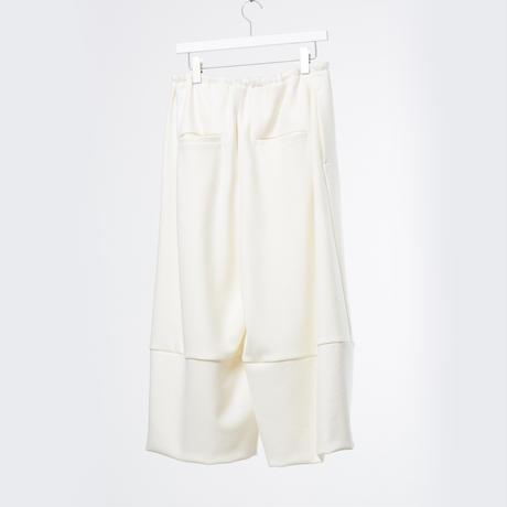 DK18-CS02-P03/Super140's Wool Light Melton Trousers/2 COLOR