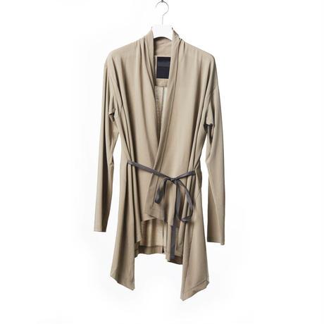 DK15-CS04-H03/COOLISM Hard Twisted Jersey Cardigan