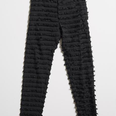 DK19-10-P03/C/Ry Cut Jacquard Pants/2COLORS