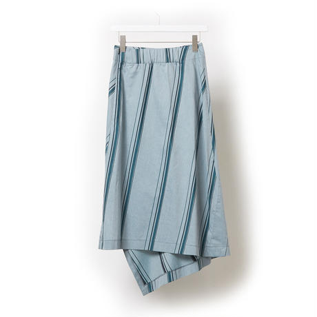 DK17-05-S06/Cotton Stripe Dobby Cloth Skirt