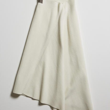 <Limited Edition> DK18-08-S01/W/Ny/C Double Face Skirt/2 COLOR