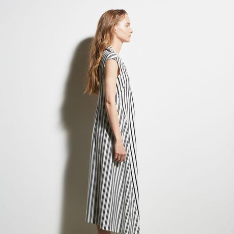 DK19-CS03-O01/Cotton Stripe Jersey Dress/1COLOR
