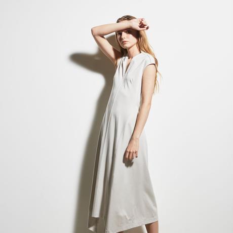 DK19-CS05-O01/Diorama Silky Milano Rib Dress/2COLORS