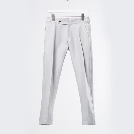 DK18-05-P01/Silk Cotton Grosgrain Trousers/2 COLORS