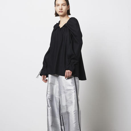 DK20-02-B02/Light Wool French Twill Blouse/2COLORS