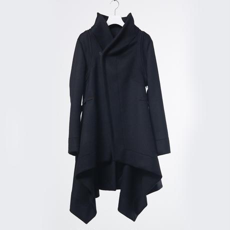 DK18-10-C08/Wool Cashmere Beaver Coat/1 COLOR