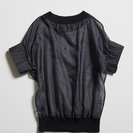 DK19-03-B04/Silk/Pe Chambray Organdy Pullover/2 COLORS