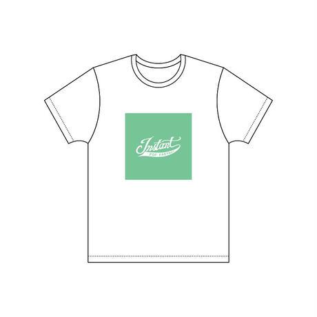 カラーパレット・ロゴTシャツ【b. Watch Out!!グリーン】