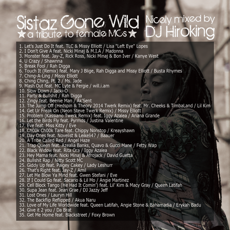 Sistaz Gone Wild 【HIPHOP MIX CD】