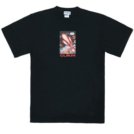 NEVERRETURN Tee shirts /BLK