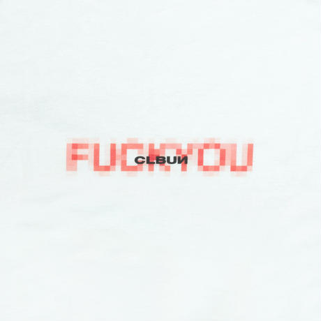 FxxK YOU  Tee Shirt/ WHT
