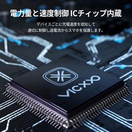 VICXXO KAEIZ K4 C to C A Type Lightning 4in1マルチケーブル120cm
