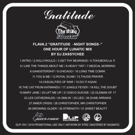 "【The Blaq Butta' #002】""GRATITUDE -NIGHT SONGS-"" Mixed by ZASSYCHEE"