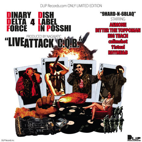 【12inch】DINARY DELTA FORCE / LIVE ATTACK C.Q.B.