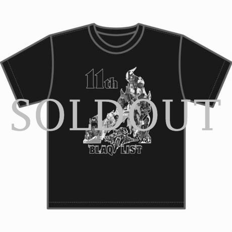 """BLAQLIST 11th Anniversary"" ORIGINAL TEE"