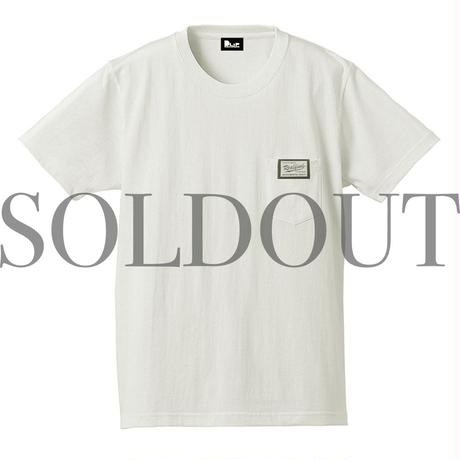 "NAGMATIC ""REAL FIND vol.3"" ORIGINAL TAG POCKET TEE -White-"