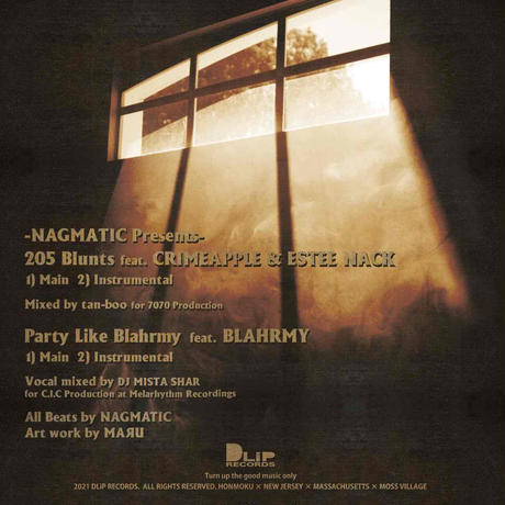 "NAGMATIC presents ""205 Blunts"" feat. CRIMEAPPLE & ESTEE NACK"