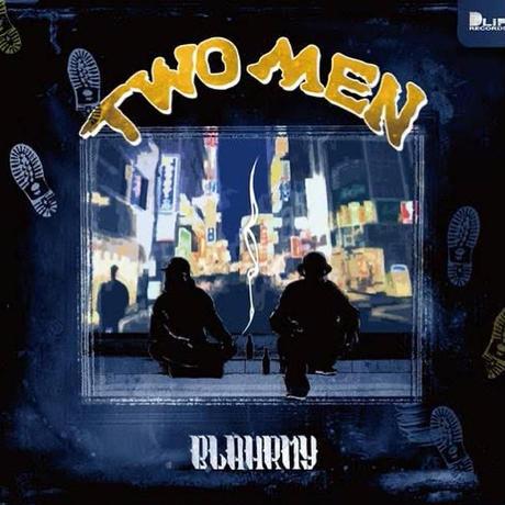 """""""TWO MEN"""" FRONT TEE -Maroon-"""